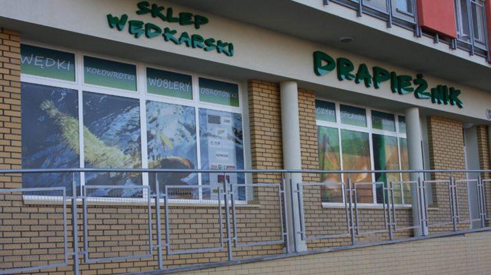 Drapieznik в Белостоке - рыболовный магазин