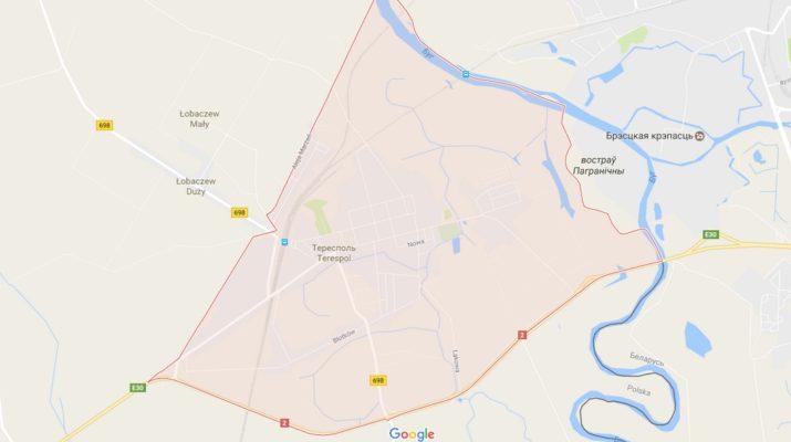 Карта Тересполя, Польша